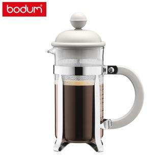 【Bodum】CAFFETTIERA 法式濾壓壺350cc-米白