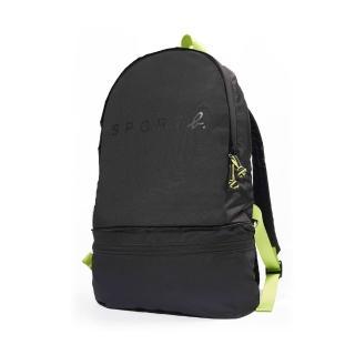 【agnes b.】Sport b.多功能後背及腰包2用包-黑