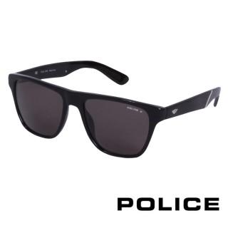 【POLICE】義大利警察都會復古時尚太陽眼鏡(紫 POS1796-700Z)