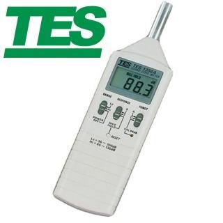 【TES 泰仕】數位式噪音計TES-1350A(數位式噪音計)