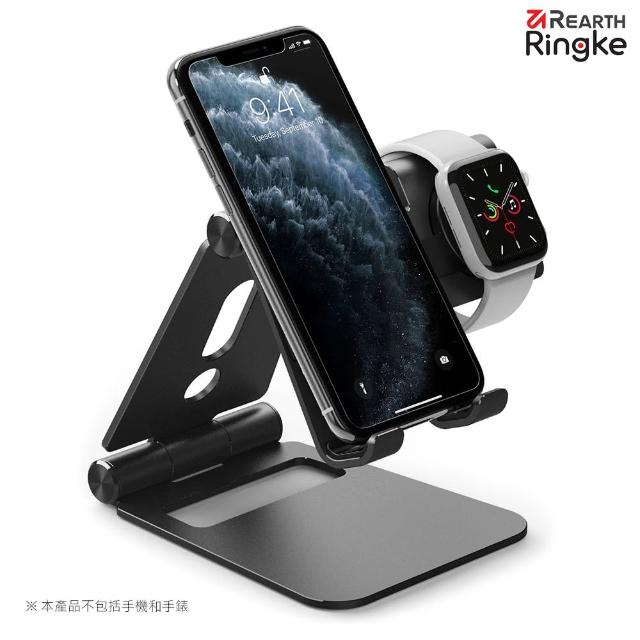 【Ringke】Rearth Super Folding Stand 摺疊式手機平板支架/iPhone/Apple Watch/Galaxy Watch(支架)