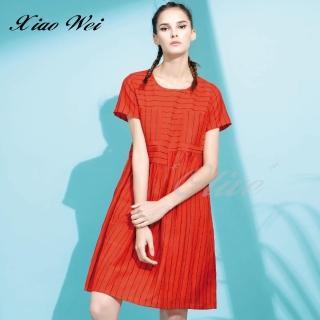 【CHENG DA】專櫃精品春夏款時尚流行短袖洋裝(NO.513285)