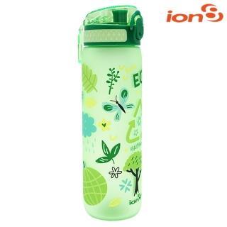【ION8】Slim運動休閒水壺I8500-圖案款(100%不含BPA無毒、100%防漏、冷溫飲品適用)
