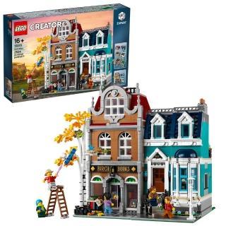 【LEGO 樂高】創意百變系列 書店 10270 模型 積木(10270)