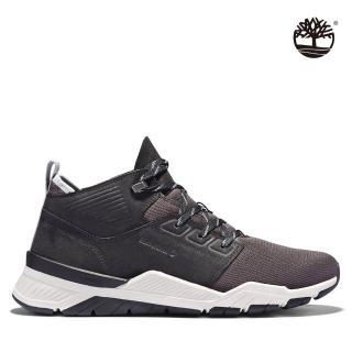 【Timberland】男款黑色網面運動鞋(A2BQW015)