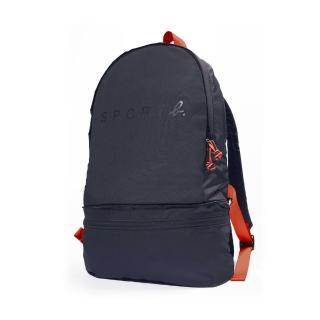 【agnes b.】Sport b.多功能後背及腰包2用包 深藍