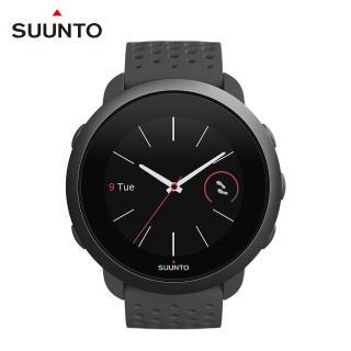 【SUUNTO】Suunto 3 輕巧耐用 配置智能訓練導引的運動腕錶(板岩灰)