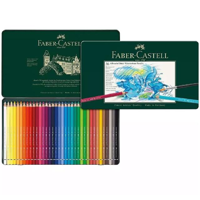 【Faber-Castell】117536 藝術級36色水性色鉛筆(色鉛筆)
