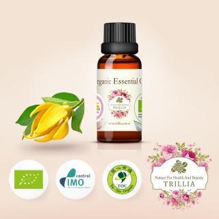 【Trillia】雙有機NANFY完全依蘭精油(15ml)
