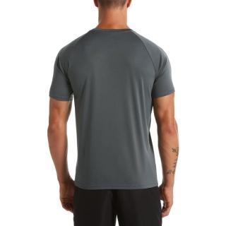 【NIKE 耐吉】成人 男性 短袖防曬衣 鐵灰 NESSA586-018