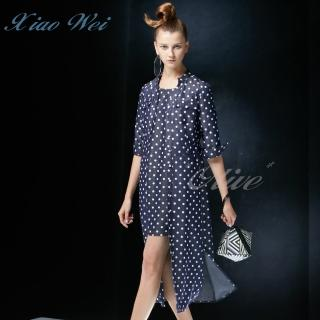 【CHENG DA】專櫃精品春夏款時尚流行洋裝外罩(NO.020734)