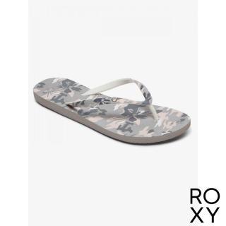 【ROXY】女款 夾腳拖 拖鞋 人字拖 PORTOFINO III(灰色)