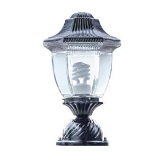 【大巨光】台製現代風1燈門柱燈(LW-09-5854)
