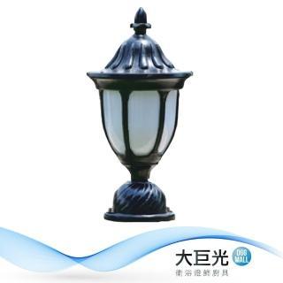 【大巨光】台製古典風1燈門柱燈(LW-09-585B)