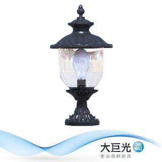【大巨光】現代風1燈門柱燈(LW-09-5873)