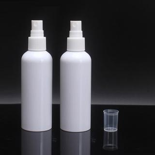 【MYBeauty】台灣製 噴霧隨身分裝瓶 HDPE瓶 2號瓶(80ml 6入組 抗菌旅行分裝瓶/消毒瓶/隨身噴霧/酒精可裝)