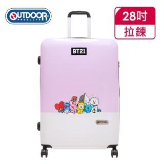 【OUTDOOR】宇宙明星BT21-全員集合行李箱28吋-紫(ODBT1980B28PL)