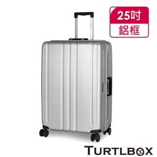 【TURTLBOX 特托堡斯】行李箱 25吋 100%德國拜耳PC材質 超大容量 TB5-FR 輕量(多色任選)