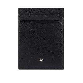 【MONTBLANC 萬寶龍】匠心系列4卡名片/卡片夾(黑色)
