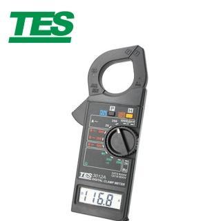 【TES 泰仕】TES-3012A 數位交流鉤錶 1KA(數位交流鉤錶 交流鉤錶 鉤錶)