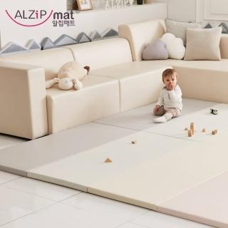 【ALZiPmat】韓國手工製 時尚經典四折折疊墊 -(經典時尚粉)