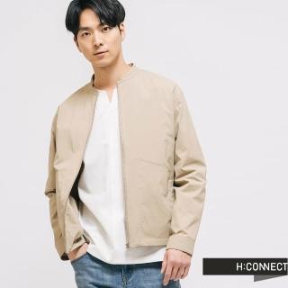 【H:CONNECT】韓國品牌 男裝 -俐落質感夾克外套(卡其色)