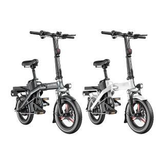 【iFREEGO】F5電動自行車150公里版 電動續航力150公里 電助力續航力高達180公里(電動車 自行車 折疊車)