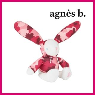 【agnes b.】Lapin 迷彩小兔 粉紅
