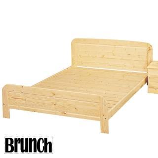 經典松木實木床架-實木床板(雙人5尺)
