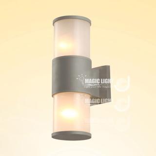【光的魔法師】灰色戶外壁燈 戶外走廊燈(雙邊投光)