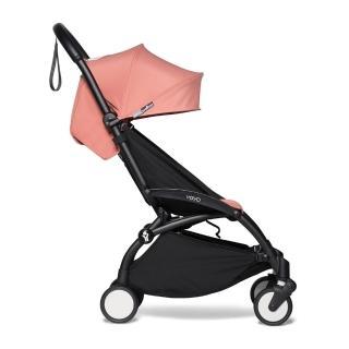 【BABYZEN】YOYO2 嬰兒手推車6+(黑色車架)
