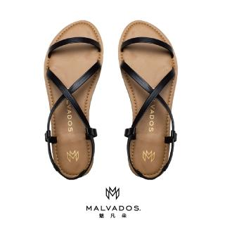 【Malvados 魅凡朵】經典時尚涼拖鞋 ICON ALANIS 艾拉妮斯 - Black 黑