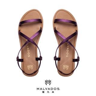 【Malvados 魅凡朵】經典時尚涼拖鞋 ICON ALANIS 艾拉妮斯 - Aubergine 深茄紫