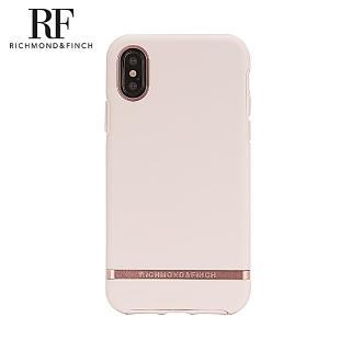 【Richmond&Finch】RF瑞典手機殼 玫瑰金線框-玫瑰粉(iPhone Xs Max 6.5吋)