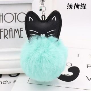 【Bliss BKK】可愛狗狗/貓咪毛球吊飾 包包吊飾(多色任選 現貨供應中)