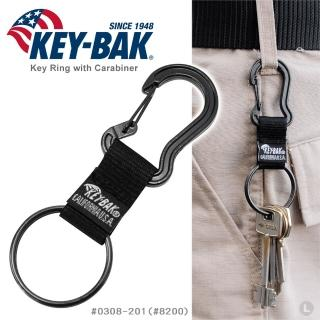 【WCC】KEY BAK D型環織帶鑰匙圈_兩個合售(#0308-201_#8200)