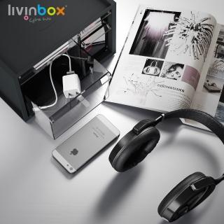 【livinbox 樹德】小幫手零件分類箱-4抽 A9-304(小物收納/可堆疊/透明/收屜/收納盒/收納箱)