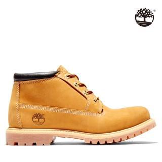 【Timberland】女款小麥黃經典防水短靴(23399713)
