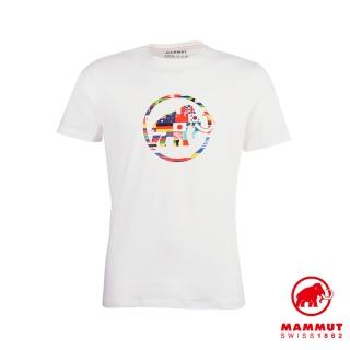 【Mammut 長毛象】Nations T-Shirt Men 世界LOGO短袖上衣 男款 純白 #1017-02220