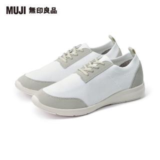 【MUJI 無印良品】男聚酯纖維足跟緩衝運動鞋(共4色)