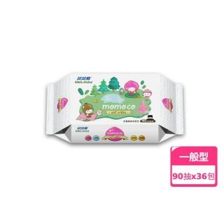 【拭拭樂】momo co森活超純水濕巾90抽*36包/箱(獨家增量版)