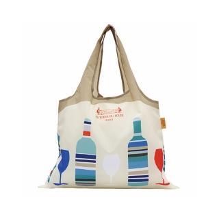 【Les Toiles du Soleil 蘇蕾】兩用購物袋(卡布里島)