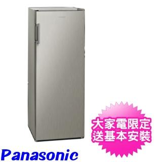 【Panasonic 國際牌】170公升直立式無霜冷凍櫃(NR-FZ170A-S)