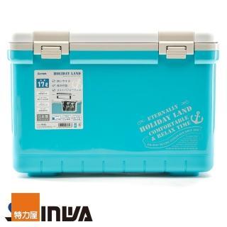【特力屋】日本品牌 SHINWA Holiday Land 冰桶 17L 藍 型號060163