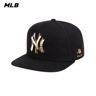 【MLB】METAL ONE POINT系列紐約洋基隊可調整式棒球帽 帽子(32CP57011-50Q)