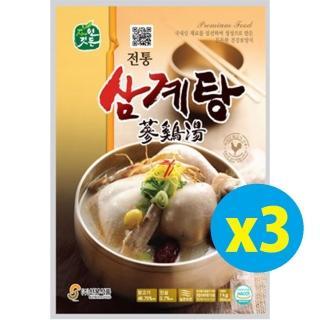 【韓國 宮廷養生】人蔘雞湯1000g 三入組(人蔘 養生)