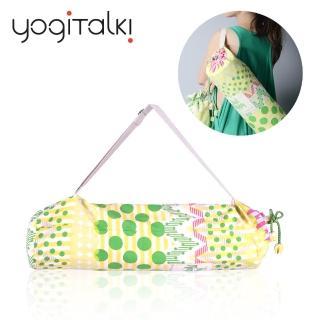 【yogiTalki】爵士.樂/綠樂曲 日本棉布 瑜伽墊收納桶袋