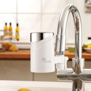 【ALYA 歐漾】龍頭式除菌生飲淨水器 FF-5600(含2只濾芯)