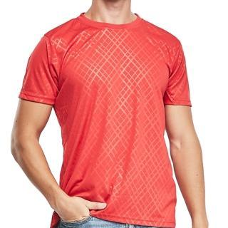 【棉花共和國】超涼快乾圓領短袖衫3件組(紅色)/