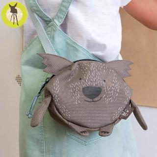 【Lassig】幼童迷你動物造型隨身包-多色/